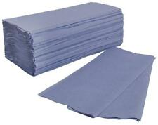 Paper Hand Towels Industrial Commercial 1Ply Blue Interfold Washroom QTY 3600