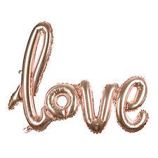 Foil Balloon Heart Shape LOVE Birthday Wedding Party Anniversary Helium Decor