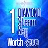 1 DIAMOND Steam Key  🔥 Region Free 🌎 - Fast Delivery ⚡️