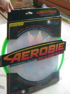"Aerobie Skylighter Disc 12"" Green NEW"