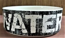 """New listing Nwt PetRage Labeled """"Water"""" Dish for Dog or Cat, Holds 14 oz., 5"""" Diam. 1.88"""" T"""