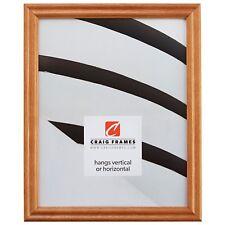Craig Frames Wiltshire Ash 200, Natural Brown Hardwood Picture Frame