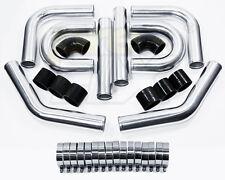 """PreFix 3"""" OD Universal Aluminum Piping Kit, Mandrel Bent, 2.0mm Thick, 24L"""
