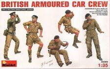 NEW - Mini Art 35069 1:35 British (WWII) Armoured Car Crew x 5