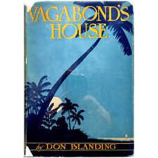 Blanding (1930) Vagabond's House - Hawaii Poetry Inscribed