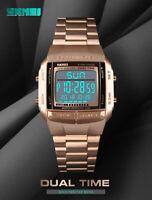 SKMEI Mens Watch Sport Watches Luxury Waterproof LED Military Digital X4C7