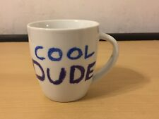 JAMIE OLIVER COOL DUDE CHEEKY COFFEE  MUG BY QUEENS