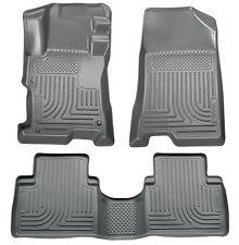 Husky Liners WeatherBeater Floor Mats - 3pc- 98862- Fits Kia Sportage 11-13-Grey