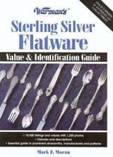 Warman's Sterling Silver Flatware : Value and Identification Guide BOOK - EUC