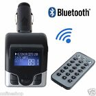 Bluetooth Wireless FM Transmitter MP3 Player Handsfree Car Kit USB TF SD Remote