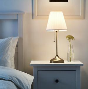 Ikea arstid lamp Table lamp, brass/white/ brand new