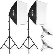 ESDDI Softbox 900W Photography Lighting Kit 20x20 Inch Photo Studio Equipment