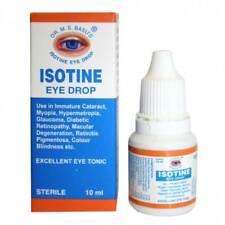 Isotine Eye Drops Pure Herbal and 100% Genuine & Trusted worldwide 1X10ml Vials