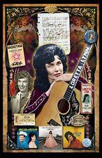 "Loretta Lynn Fan Tribute poster - 11x17"" - Vivid Colors!"