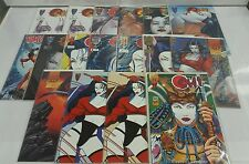 LOT OF 17 SHI COMICS Graphic Crusade William Tucci Warrior Lot EXTREMELY RARE