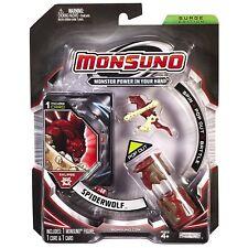 MONSUNO SPIDERWOLF #44 Eklipse SURGE EDITION inc. 1 Mini Figure 1 Core 1 Card