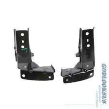 Pair Hood Lock Bracket Holder Left Right For BMW E90 E91 325i 328i 330i 335i