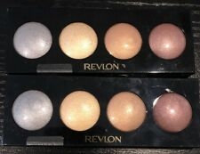 2 X Revlon Creme Illuminance Quad Eyeshadow-PRECIOUS METALS #715 New Sealed