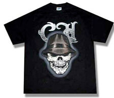 Cypress Hill-(RARE)-Fedora Skull-X-Large Black  T-shirt