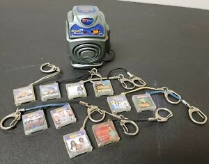 Rare Vintage Hit Clips Groove Machine With 10 Music Clips Lot
