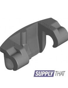 D DOLITY Bisagras de Puertas de Granero en Forma de T de Plastico Recambio Parte Negro