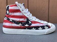 NIKE BLAZER MID '77 PRM VINTAGE 537327-109 USA FLAG MEN SIZE US 8.5 SHOES C5