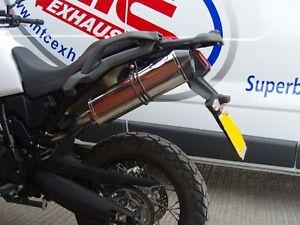 YAMAHA XT660Z Tenere Single Performance Lightweight Stainless Motorbike Exhaust