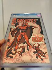 Avengers #57 Marvel CGC 8.0 Off-White to White Pages 1st Appearance of Vision