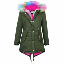 Girls' All Seasons Fur Coats, Jackets & Snowsuits (2-16 Years)