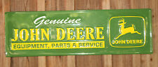 JOHN DEERE METAL SIGNS Tractor Farm Equipment LARGE 42'' Vintage Style Rustic