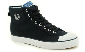 Fred Perry Navy Basket Boot B17608