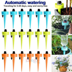 24-60Pc Garden Plant Self Watering Spikes-Adjustable Automatic Irrigation System