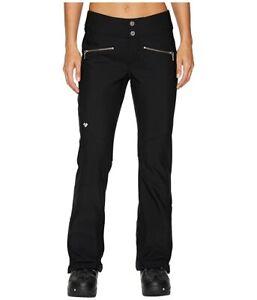 Obermeyer Clio Softshell Pants - Women's Size 14S (Short) - Black NEW