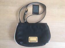 Marc Jacobs Classic Q Percy Black Color Block Mini Crossbody Bag Purse Authentic