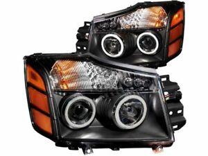For 2004 Nissan Pathfinder Armada Headlight Set Anzo 12281HP Headlight Assembly