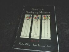 Piano For The D 00006000 Eveloping Musician - Book Pdm 5 By Hilley And Olson Spiral bound