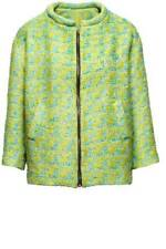 MOST WANTED H&M GREEN TWEED  LIKE BLAZER SIZE EU 34 US 4 UK 8