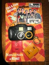 New N Sync Camera Keychain ViewMaster Cartridges Vintage Sealed 90s BoyBand Rare