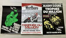 ANCIENNE AFFICHE MAGNY COURS