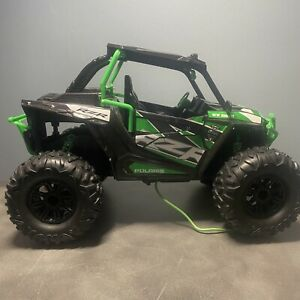 New Bright Green Polaris RZR USB ATV light bar tires body UNTESTED NO REMOTE
