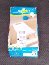 AquaSense Adjustable Bath Shower Chair with Non Slip Safety Handicap Seat White