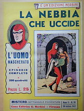 1947-MISTERO-L'UOMO MASCHERATO-LA NEBBIA CHE UCCIDE