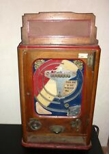 MACHINE A Sous bille VERS 1910/1920 , slot machine old , jeu de bar ancien