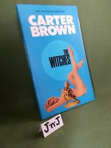 CARTER BROWN THE WITCHES (A LARRY BAKER BOOK) PAPERBACK 1969