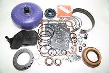 4L60E Transmission Master Rebuild Kit HD Torque Converter Transgo Shift Kit 1997