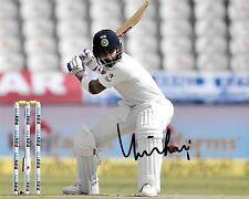 virat kohli in action batting making a shot signed 10x8 photo