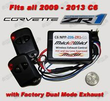 2009 - 2013 C6 Corvette ZR1 Mild to Wild NPP Exhaust Control  - FREE Shipping