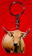 porte-cles vache 12 aubrac animals keychain llavero animales schlusselring