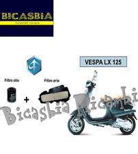 7391 - KIT FILTRO ARIA + OLIO PIAGGIO 125 150 4T 3V VESPA LX - S - BICASBIA