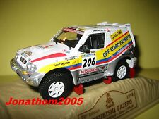Norev Mitsubishi Pajero #206 Dakar 1998 to the / of 1 /43°